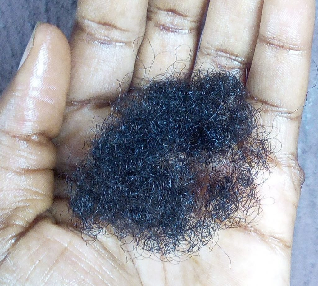 hair breakage