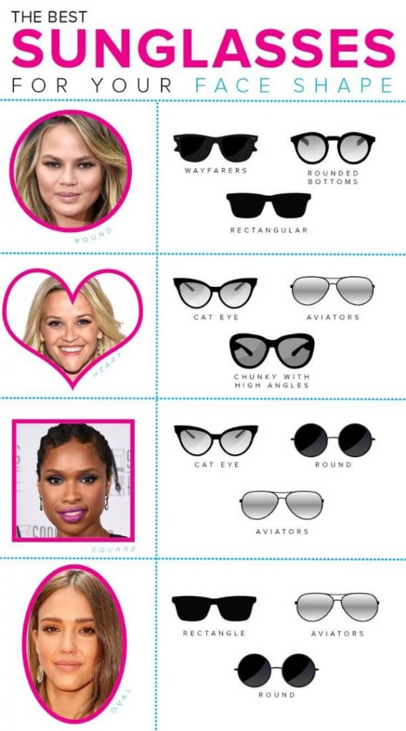 how to style your sunglasses.