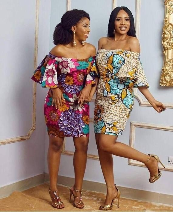 Ankara Short Gowns to Rock This September