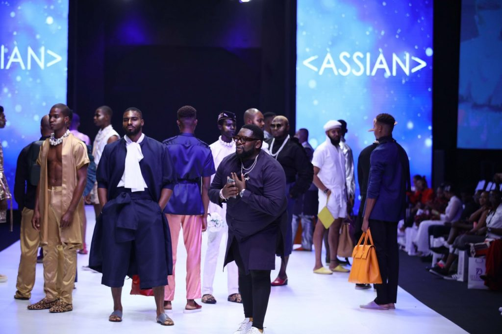 Assian at Lagos Fashion Week Day 2