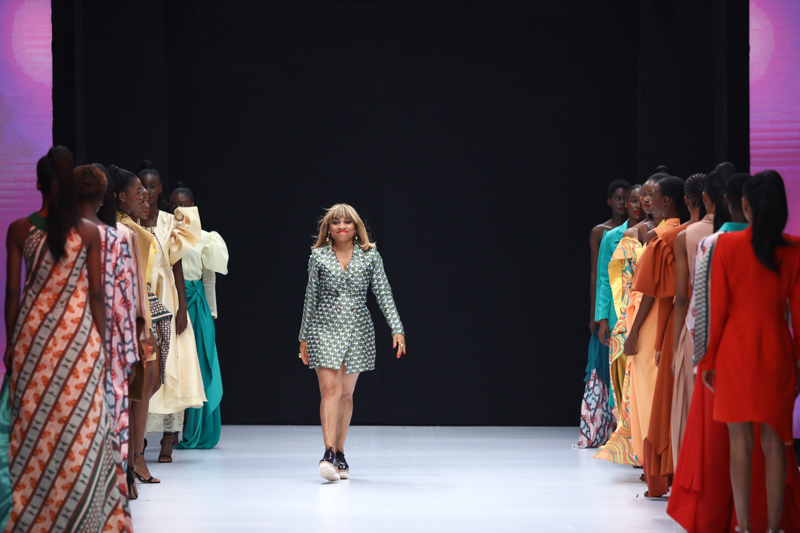 Cynthia Abila at Lagos Fashion Week Day 2