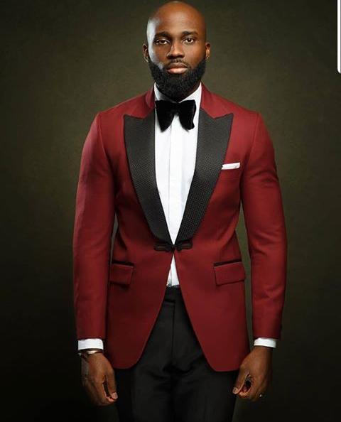 Red Tuxedo - Red Outfit Ideas for Valentine's Day