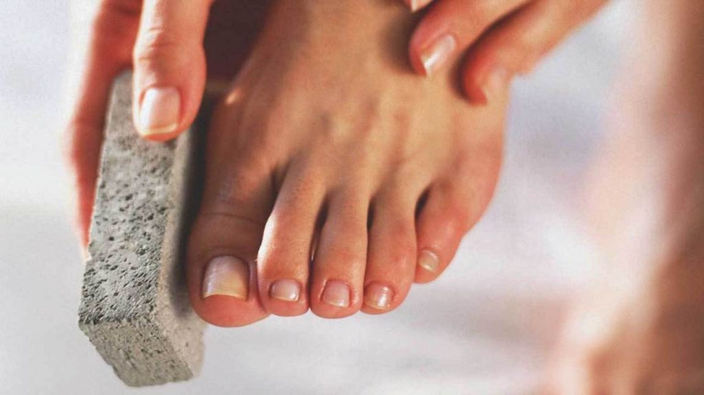 Exfoliate Your Feet - How to Do a Pedicure At Home