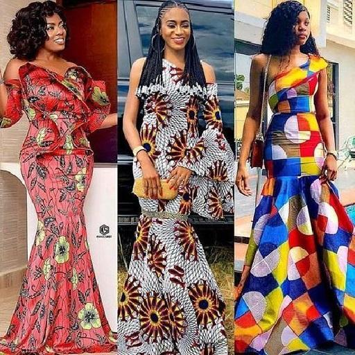 ankara long dresses - Native Wears For Nigerian Women
