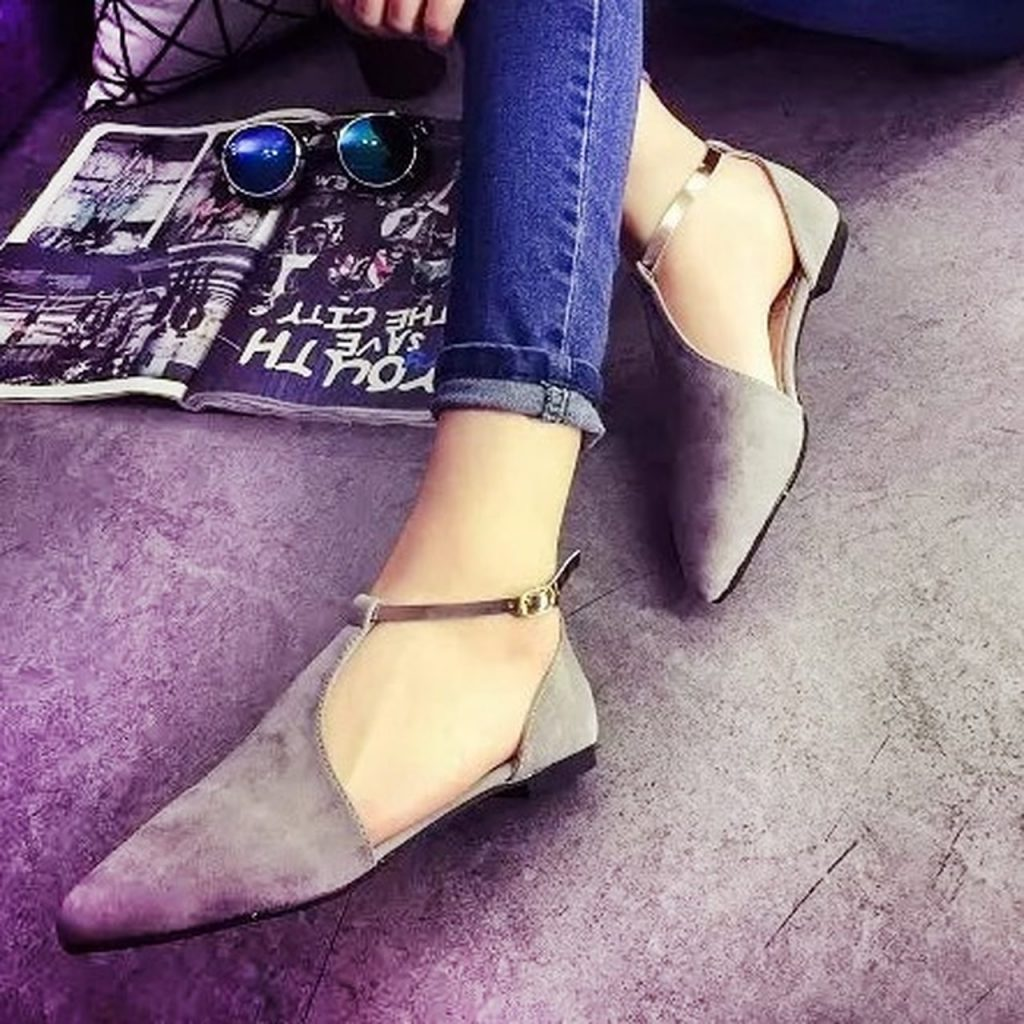 ballerina flat shoes - Types of Shoes for Women