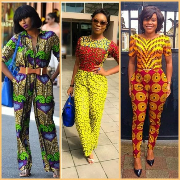 ankara jumpsuits - Native Wears For Nigerian Women