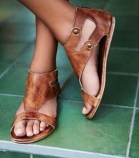 leather gladiator sandals - Types of Shoes for Women