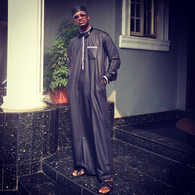Paul Psquare rocking dark jalabiya